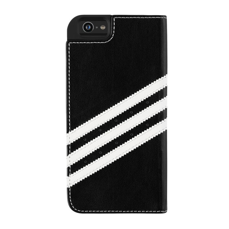 Adidas Booklet Case iPhone 6 Black/White - 2