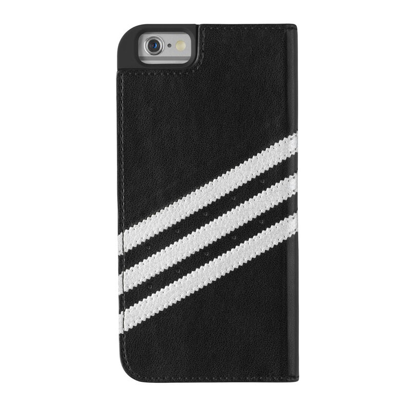 Adidas Booklet Case iPhone 6 Black/Silver - 2