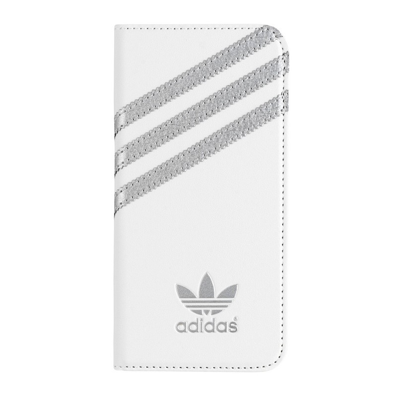 Adidas Booklet Case iPhone 6 White/Silver - 1