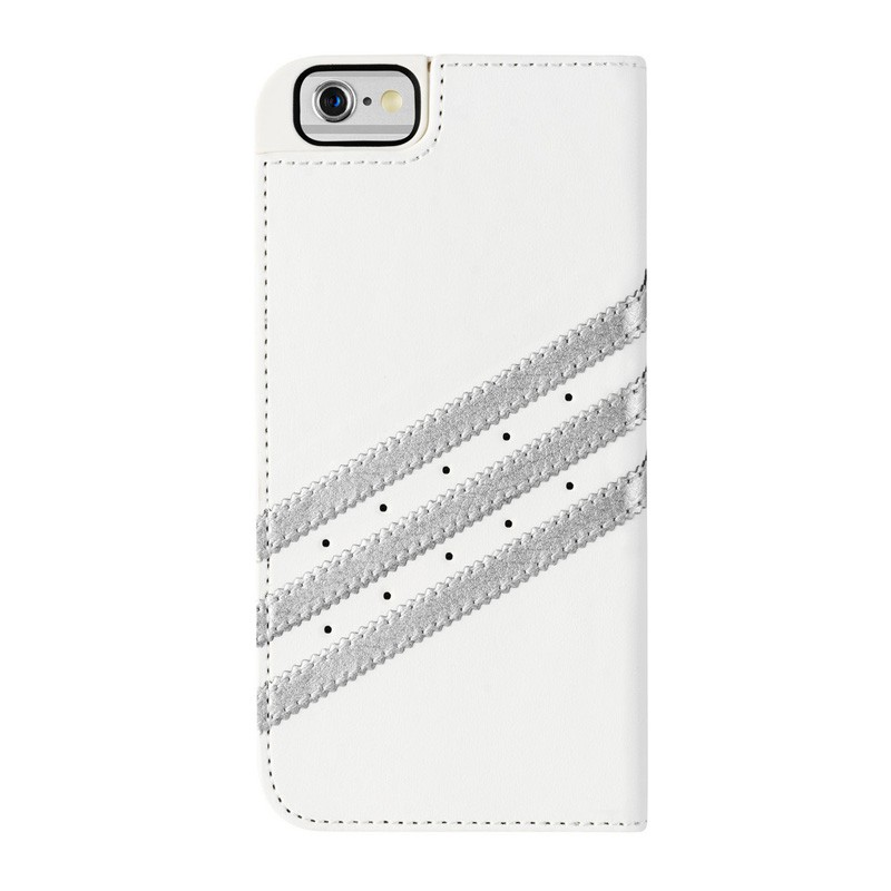 Adidas Booklet Case iPhone 6 White/Silver - 2