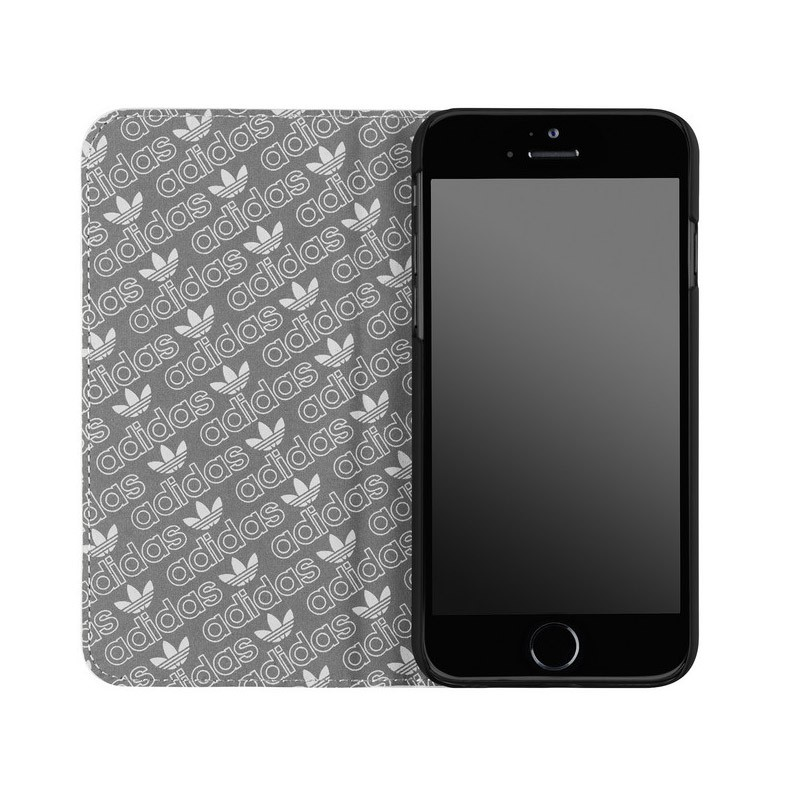 Adidas Booklet Case iPhone 6 White/Silver - 4