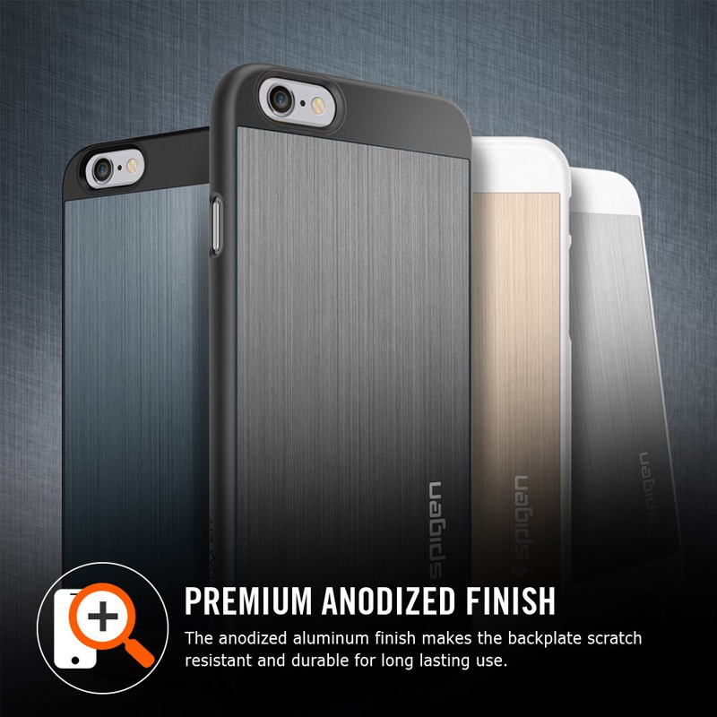 Spigen Aluminium Fit iPhone 6 Champagne - 2