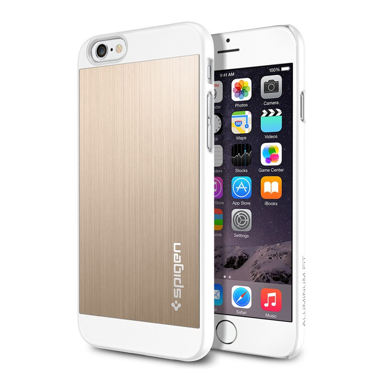 Spigen Aluminium Fit iPhone 6 Champagne - 1
