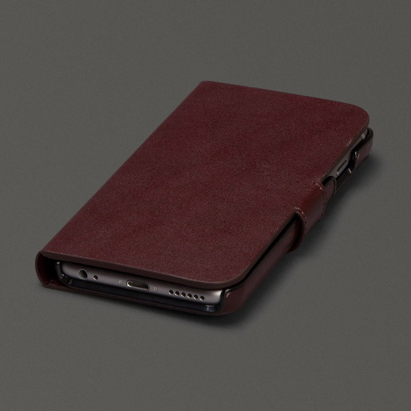 Sena Antorini Wallet iPhone 6/6S Brown - 1