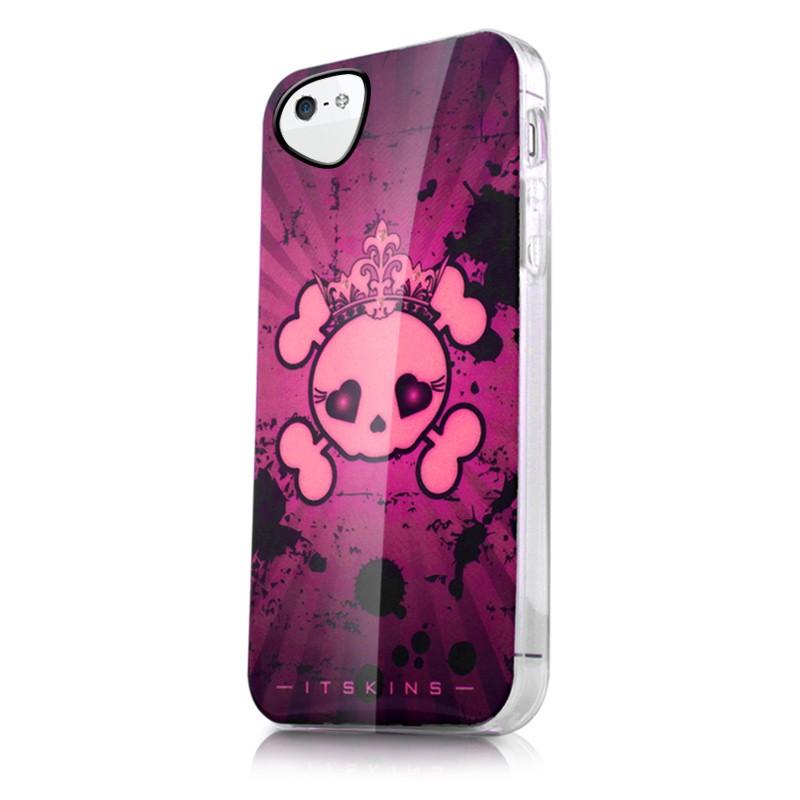 Itskins - Phantom Graphic Case iPhone SE / 5S / 5 - Hoesje met unieke print - Achterkant