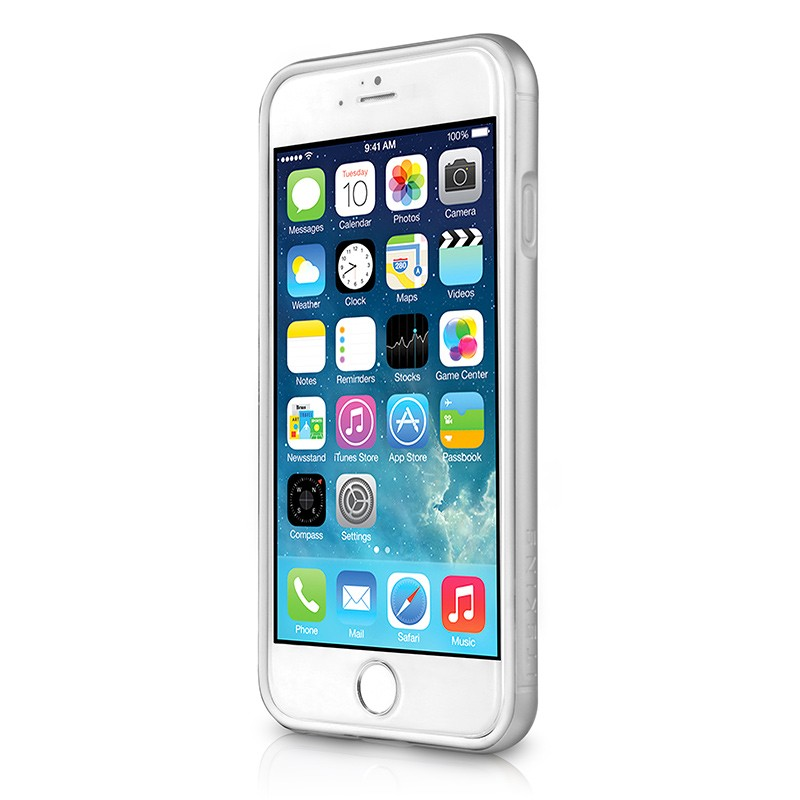 Itskins - Heat Bumper Case iPhone 6 / 6S (silver) 02