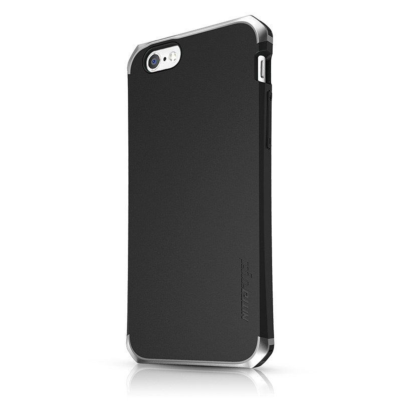 Itskins – Nitro Forged Case iPhone 6 / 6S (black silver) 01