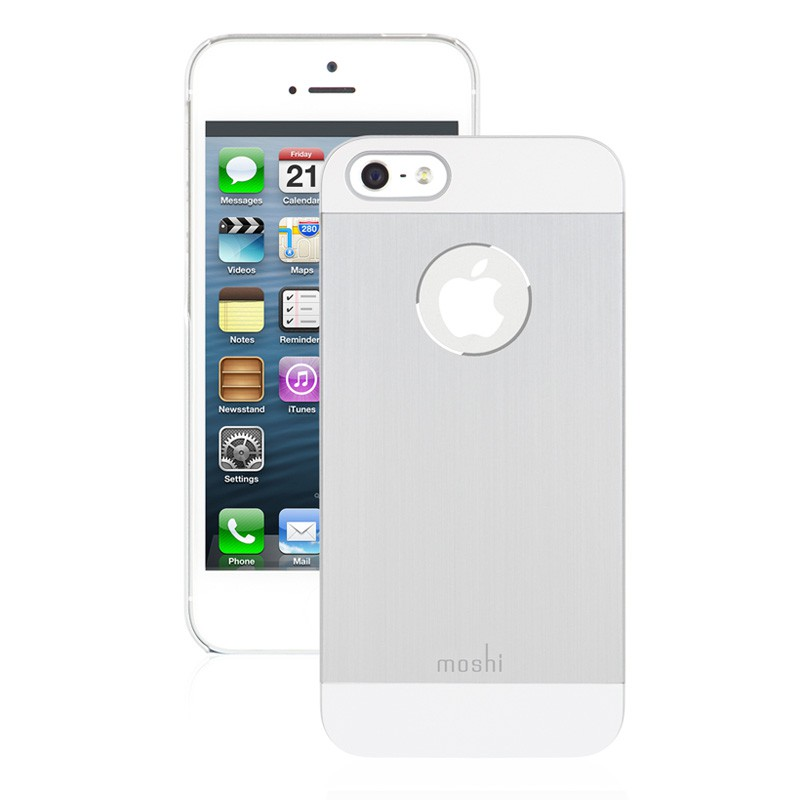 Moshi iGlaze Armour iPhone 5/5S/5C Silver - 1