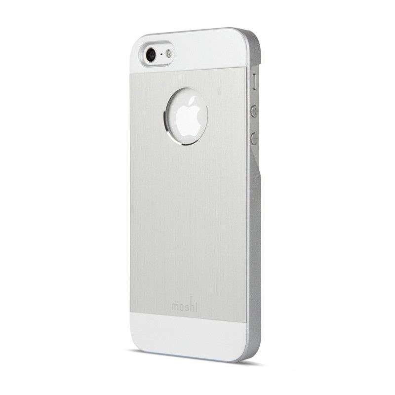 Moshi iGlaze Armour iPhone 5/5S/5C Silver - 2