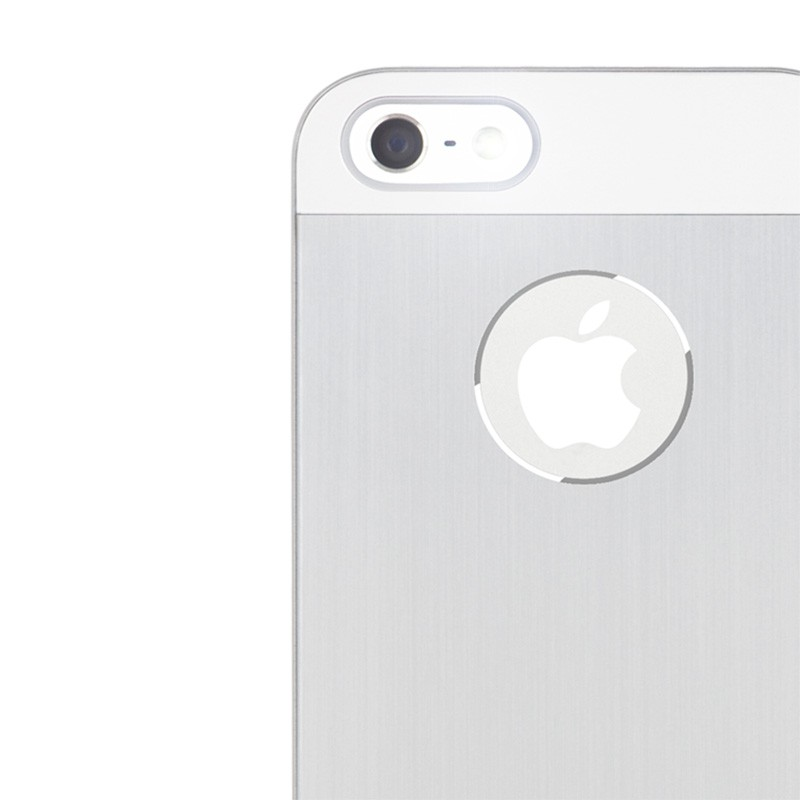 Moshi iGlaze Armour iPhone 5/5S/5C Silver - 5