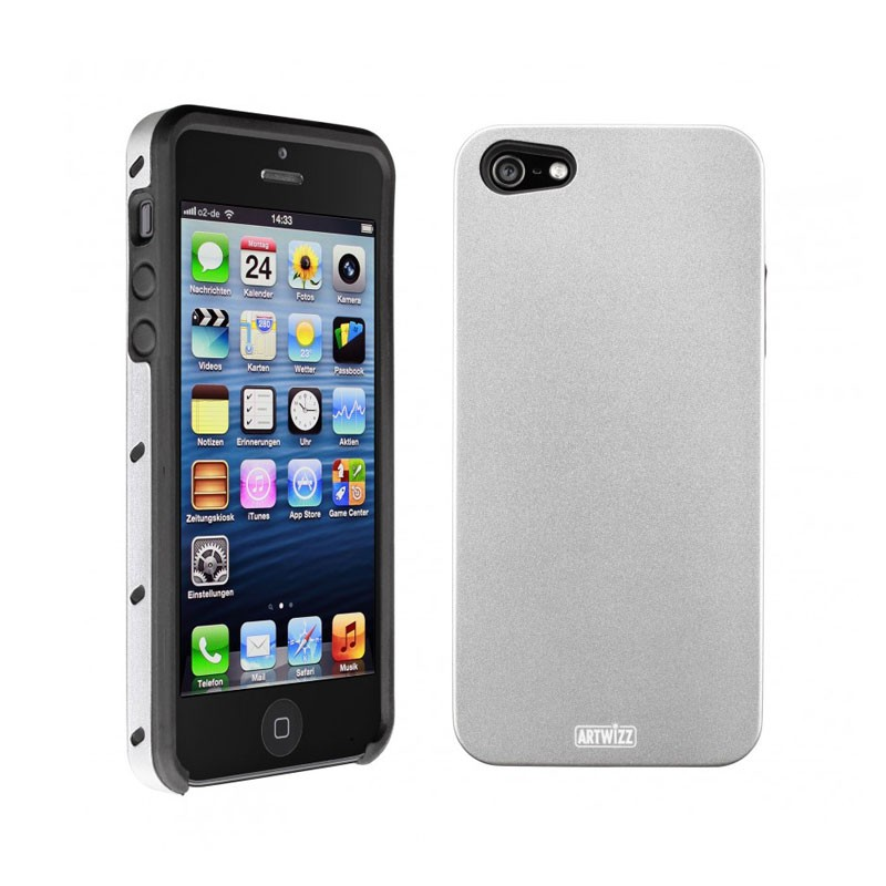 Artwizz SeeJacket Alu iPhone 5 (Silver) 03
