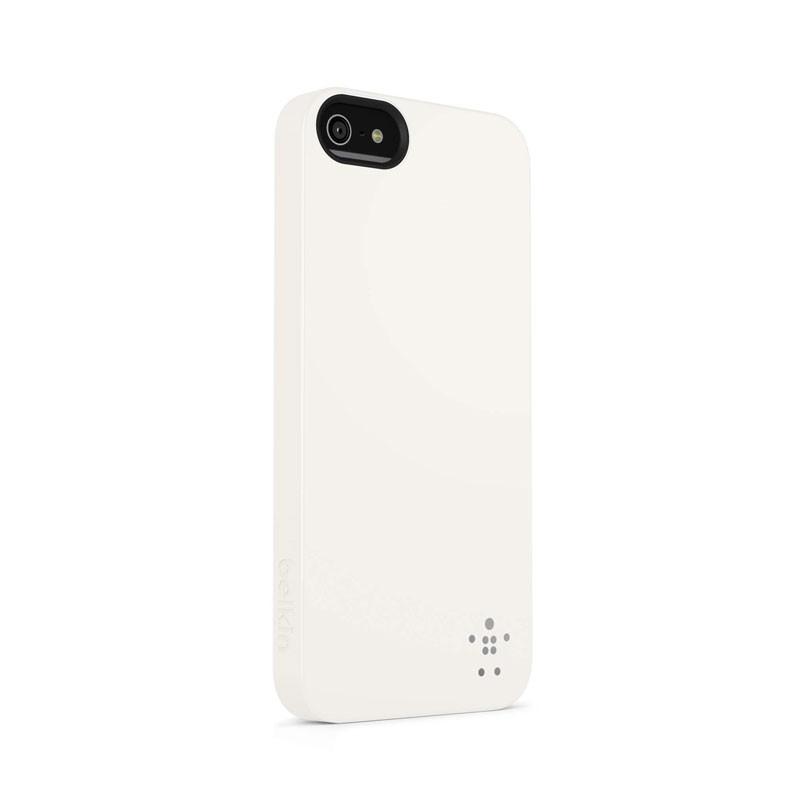 Belkin Shield Matte iPhone 5 (White) 02