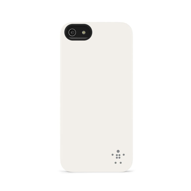Belkin Shield Matte iPhone 5 (White) 04