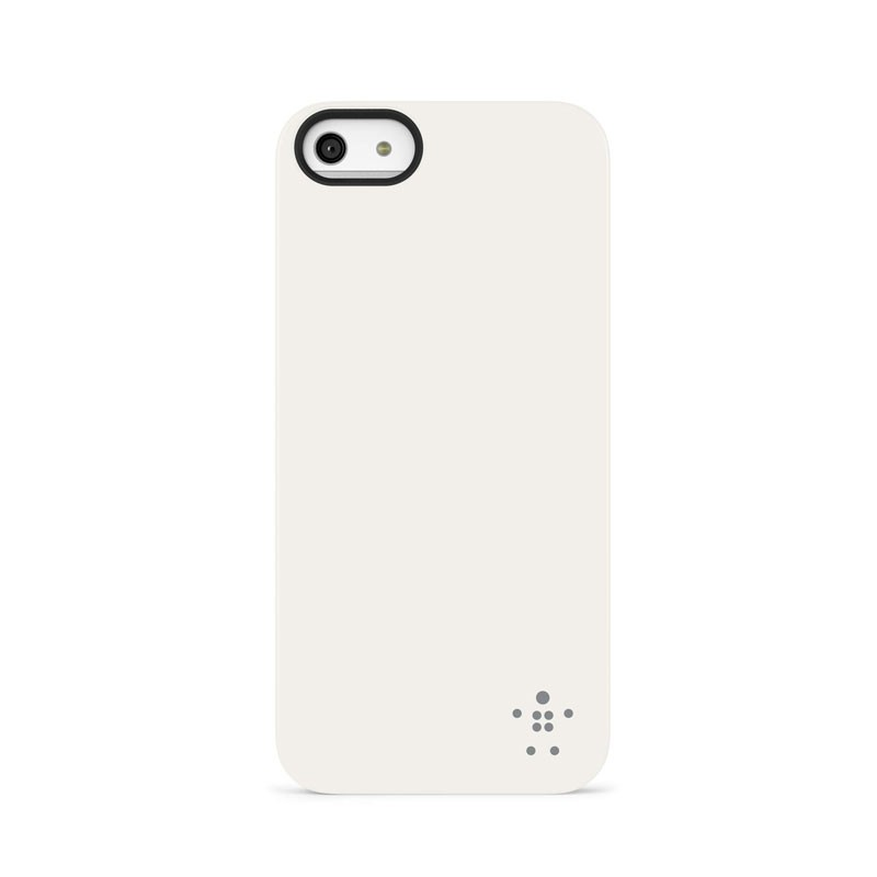 Belkin Shield Matte iPhone 5 (White) 03