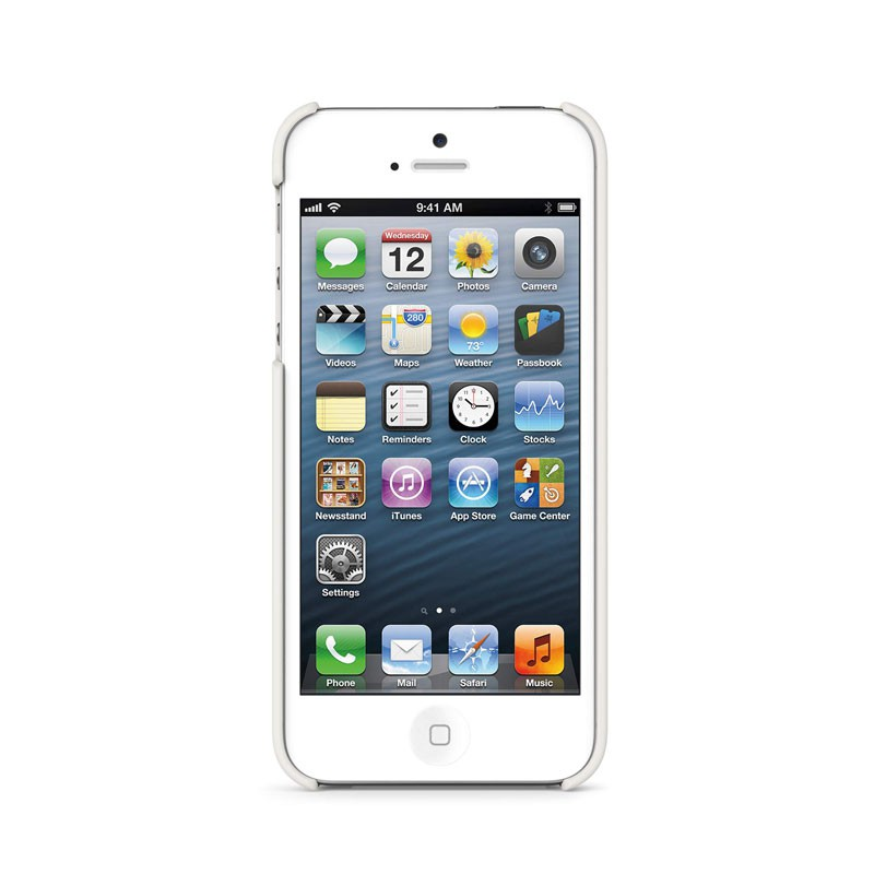 Belkin Shield Matte iPhone 5 (White) 05