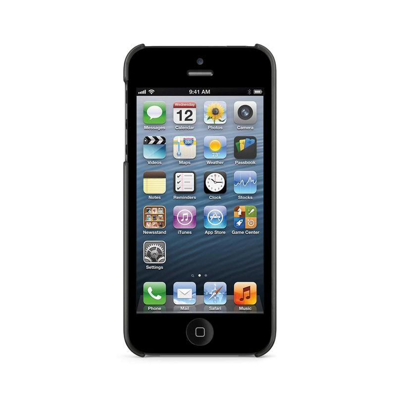 Belkin Shield Sheer Matte iPhone 5 (Black) 05