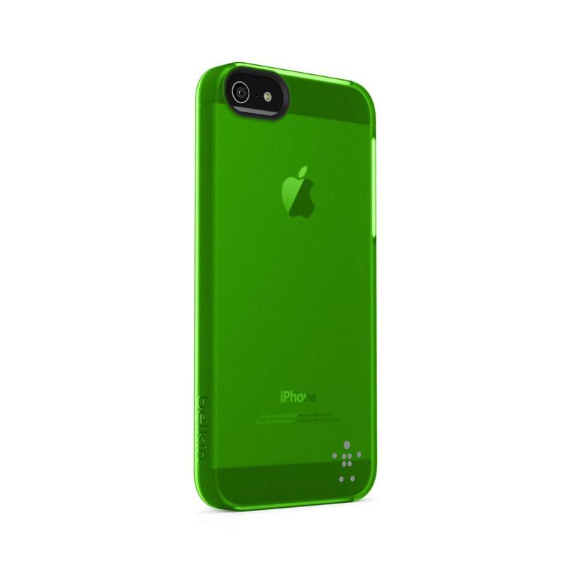 Belkin Shield Sheer Matte iPhone 5 (Green) 02