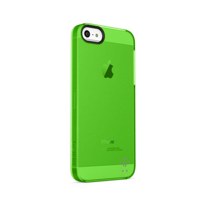 Belkin Shield Sheer Matte iPhone 5 (Green) 01