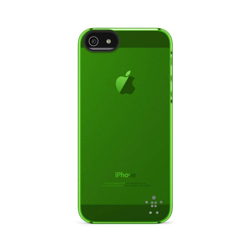Belkin Shield Sheer Matte iPhone 5 (Green) 04
