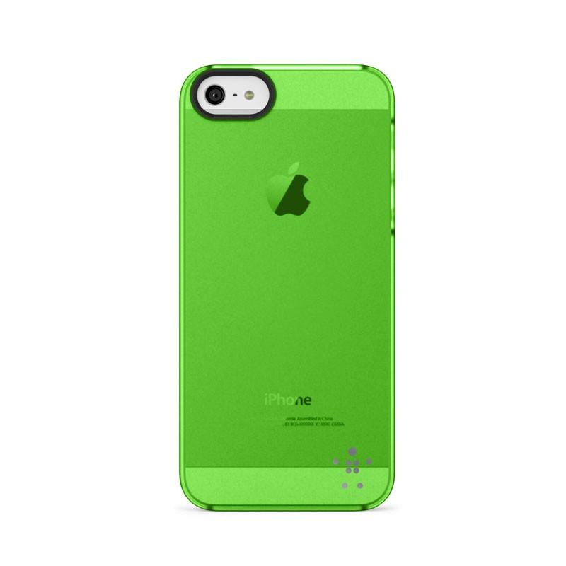 Belkin Shield Sheer Matte iPhone 5 (Green) 03