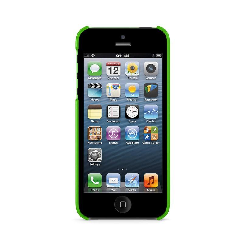 Belkin Shield Sheer Matte iPhone 5 (Green) 06