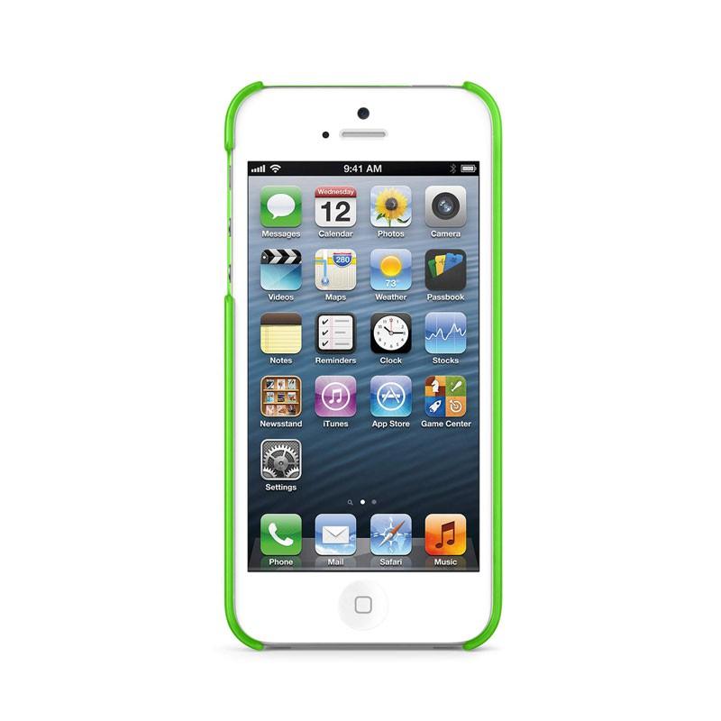 Belkin Shield Sheer Matte iPhone 5 (Green) 05