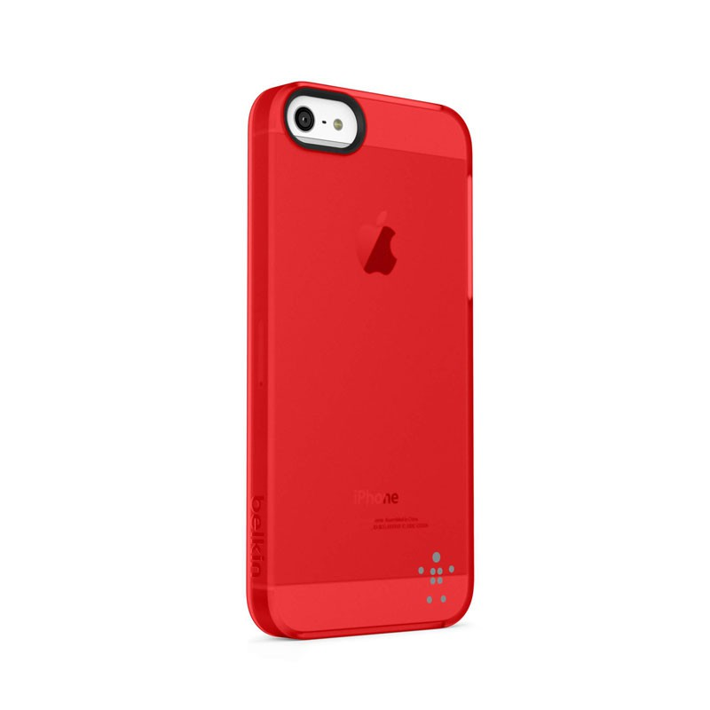 Belkin Shield Sheer Matte iPhone 5 (Red) 02