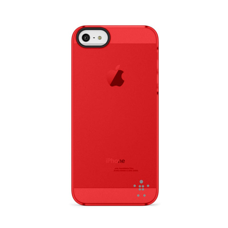 Belkin Shield Sheer Matte iPhone 5 (Red) 04