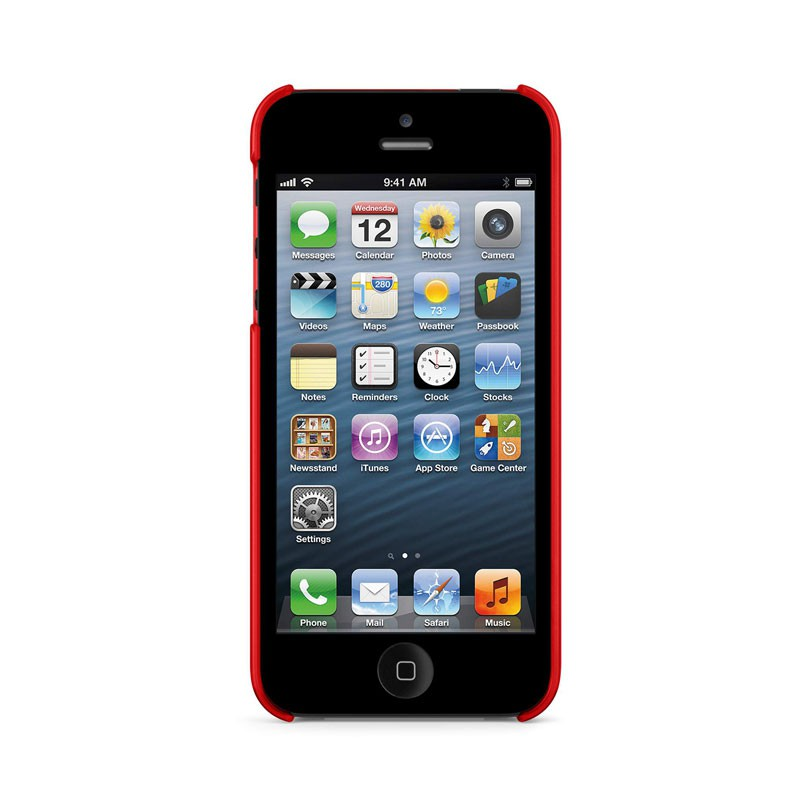 Belkin Shield Sheer Matte iPhone 5 (Red) 05