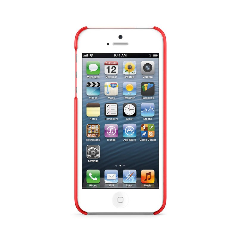 Belkin Shield Sheer Matte iPhone 5 (Red) 06
