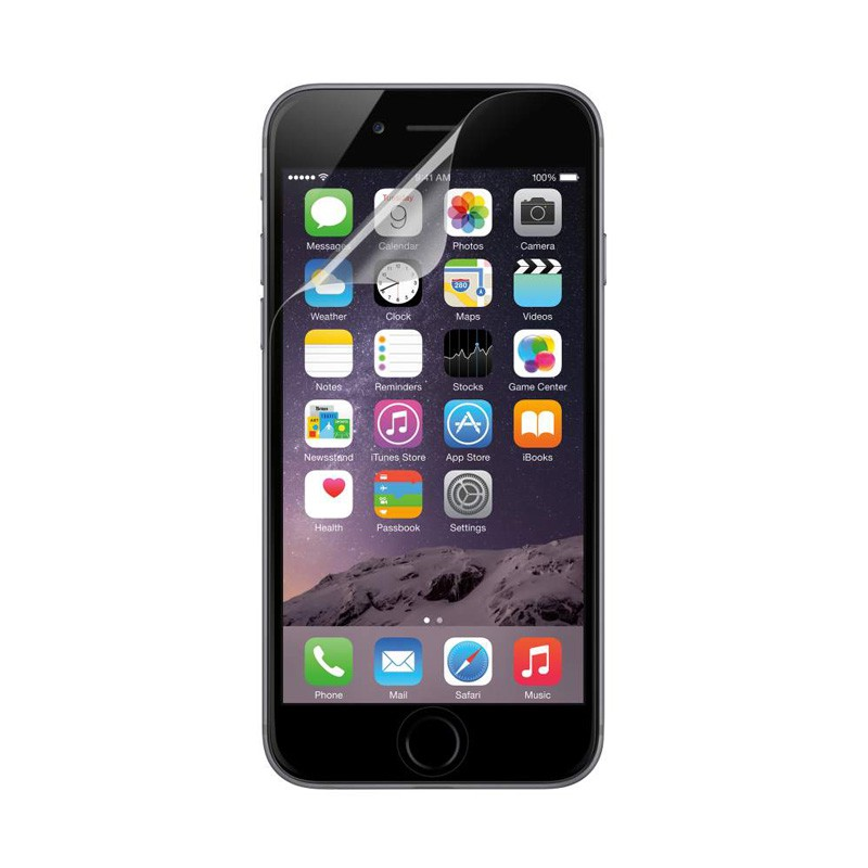Belkin Clear Screenprotector iPhone 6