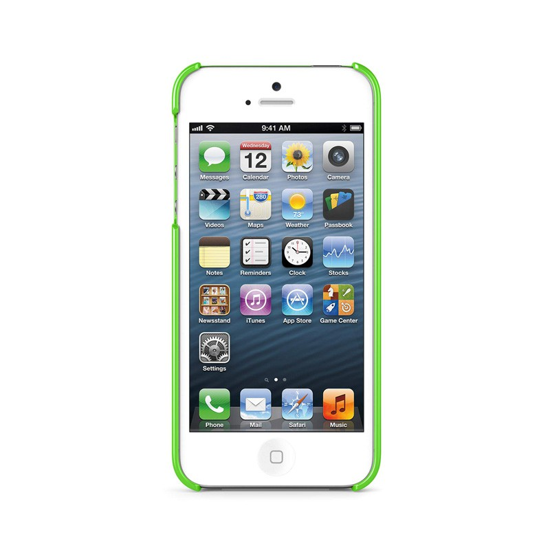 Belkin Shield iPhone 5 Green - 4