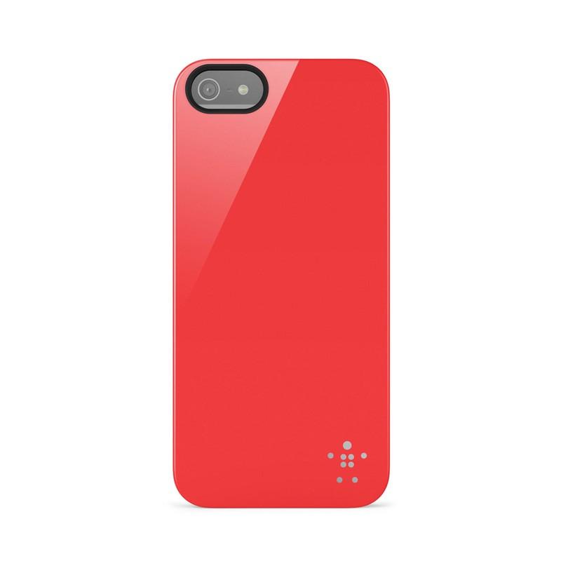Belkin Shield iPhone 5 Red - 1