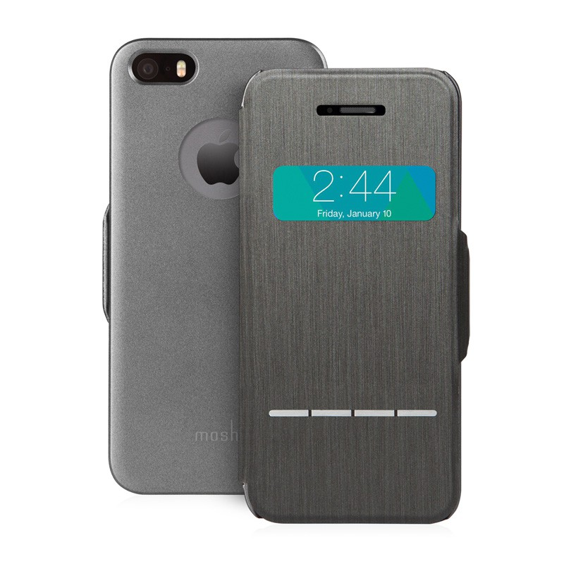 Moshi SenseCover iPhone 5/5S Black - 1