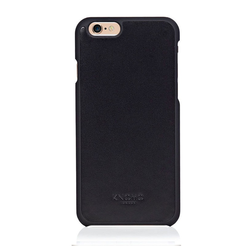 Knomo Leather Snap Case iPhone 6 Black - 1