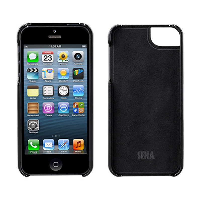 Sena Lugano Kontur iPhone 5/5S Black - 2
