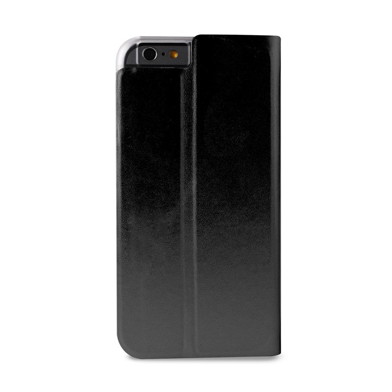 Puro Eco Leather Wallet iPhone 6 Black - 2