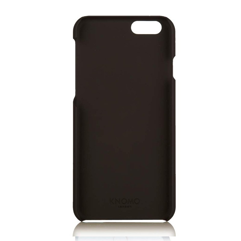 Knomo Leather Snap Case iPhone 6 Black - 4