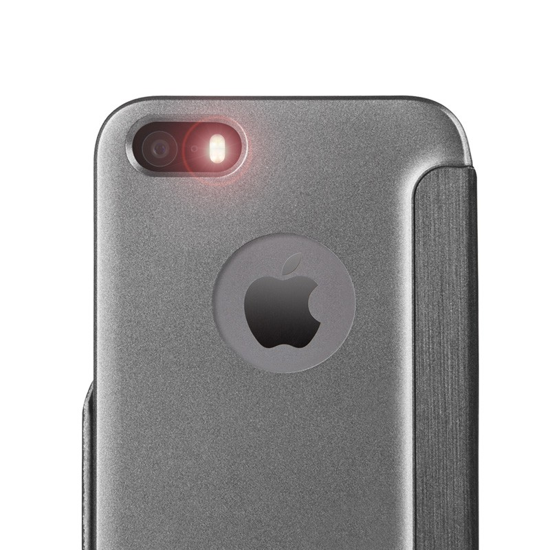 Moshi SenseCover iPhone 5/5S Black - 4
