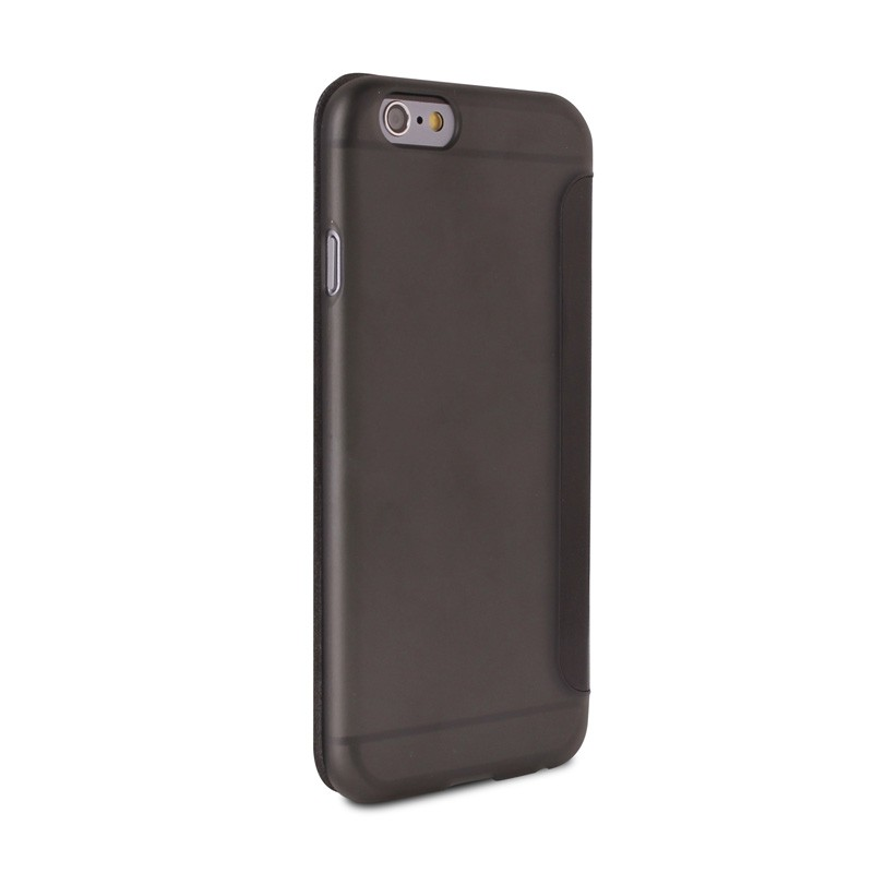 Puro - Eco Leather Wallet iPhone 6 Plus Black - 5