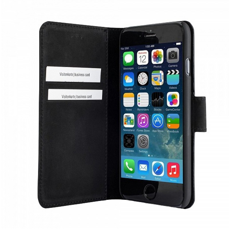 Bugatti BookCover Madrid iPhone 6 Plus Black - 5