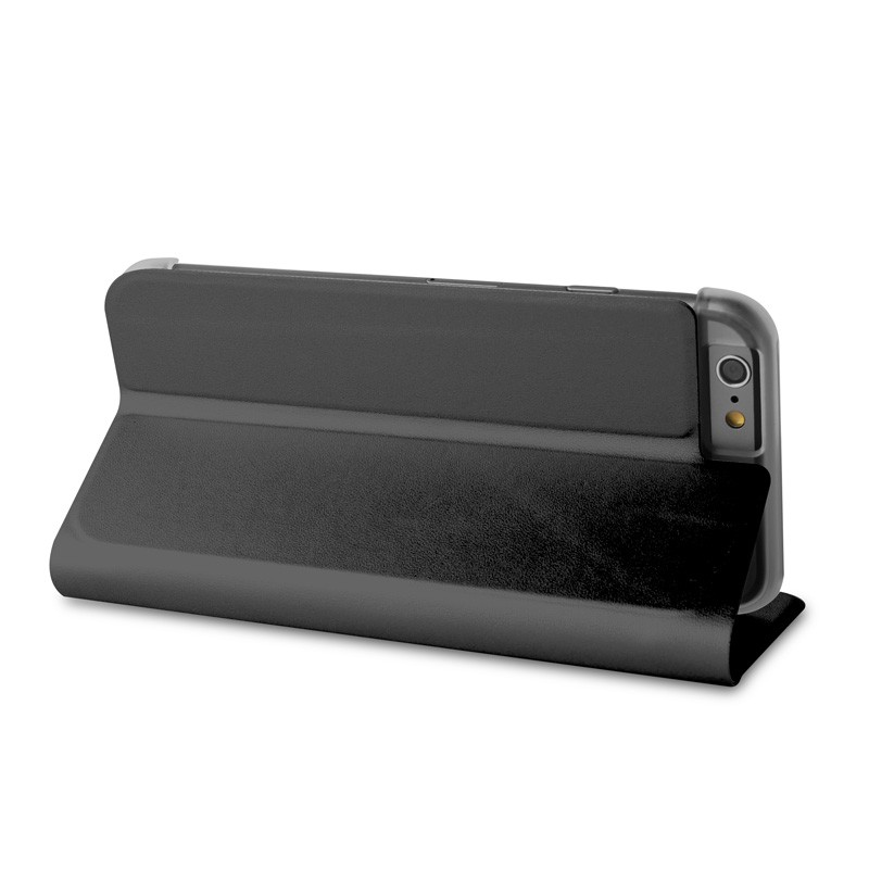 Puro Eco Leather Wallet iPhone 6 Black - 8
