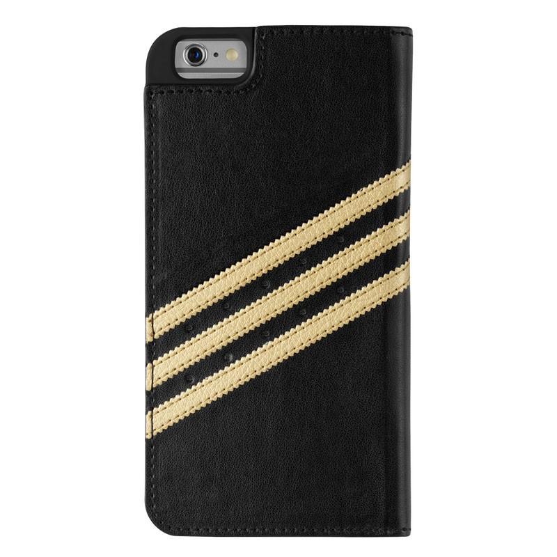 Adidas Booklet Case iPhone 6 Plus Black/Gold - 2