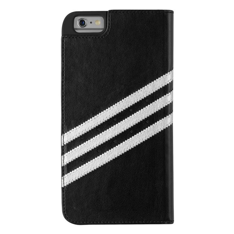Adidas Booklet Case iPhone 6 Plus Black/Silver - 2