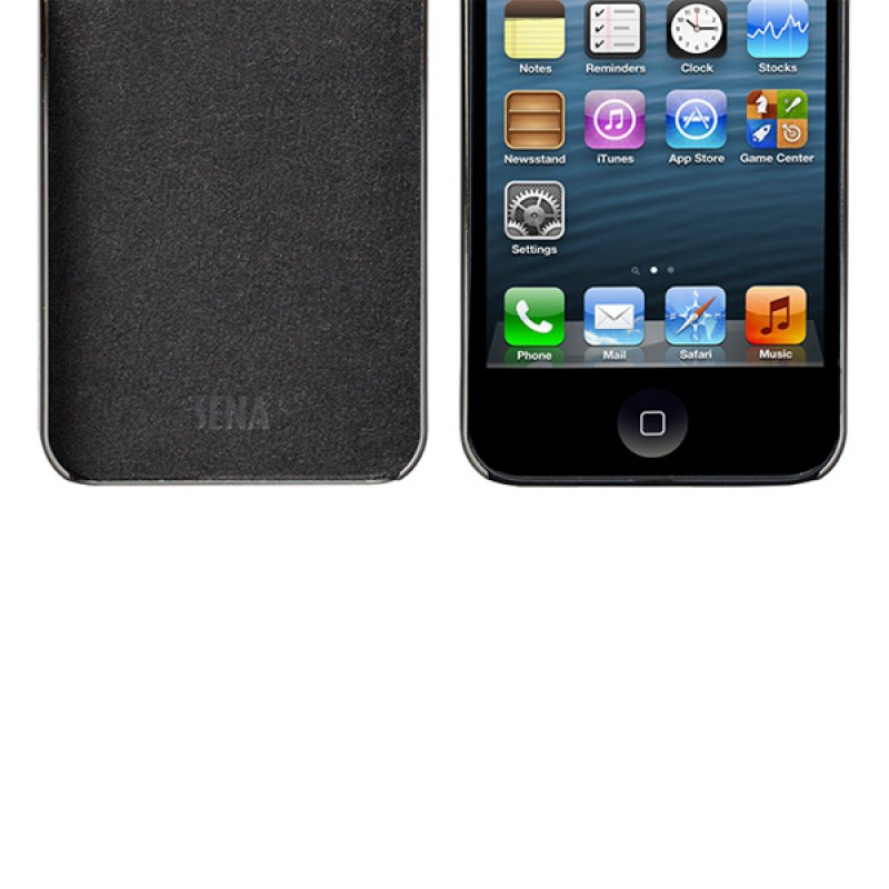 Sena Ultra Thin Snap On iPhone 5/5S Slate/silver - 3