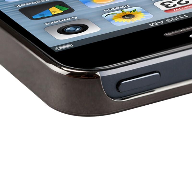 Sena Ultra Thin Snap On iPhone 5/5S Black/Gunmetal - 4