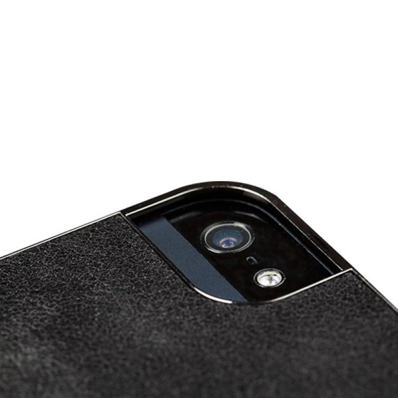 Sena Ultra Thin Snap On iPhone 5/5S Black/Gunmetal - 6