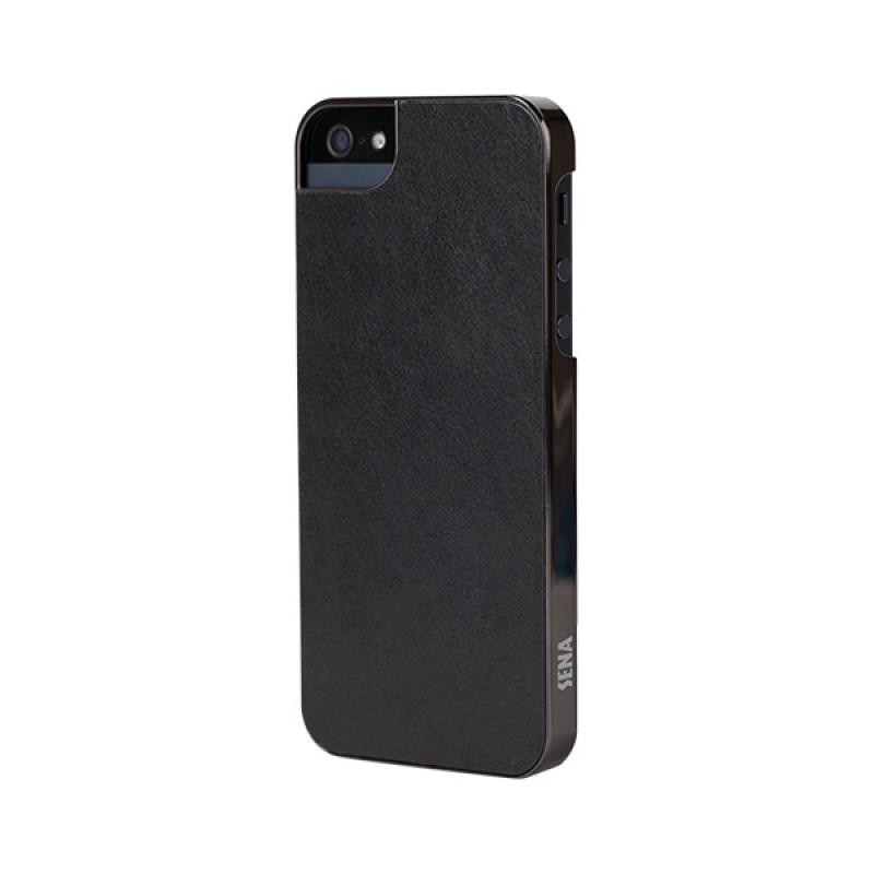 Sena Ultra Thin Snap On iPhone 5/5S Black/Gunmetal