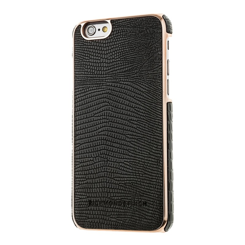 Richmond & Finch Framed Rosé iPhone 6 / 6S Black Reptile - 2