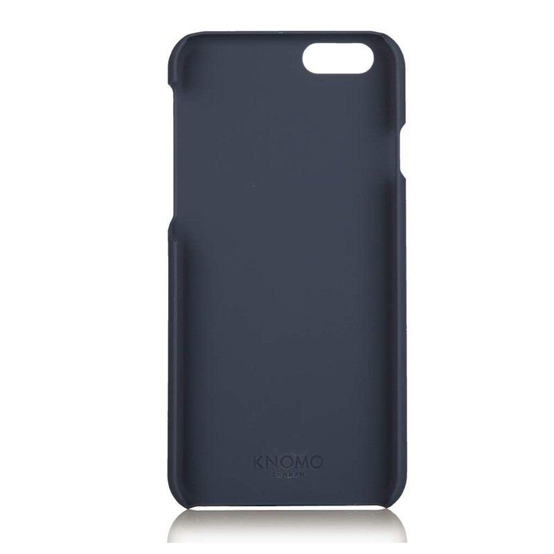 Knomo Leather Snap Case iPhone 6 Blue - 4